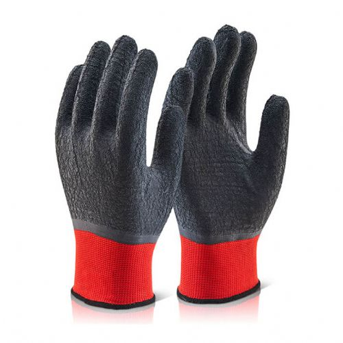 Click Multi Purpose Latex Coated Grip Gloves - 100 Pairs